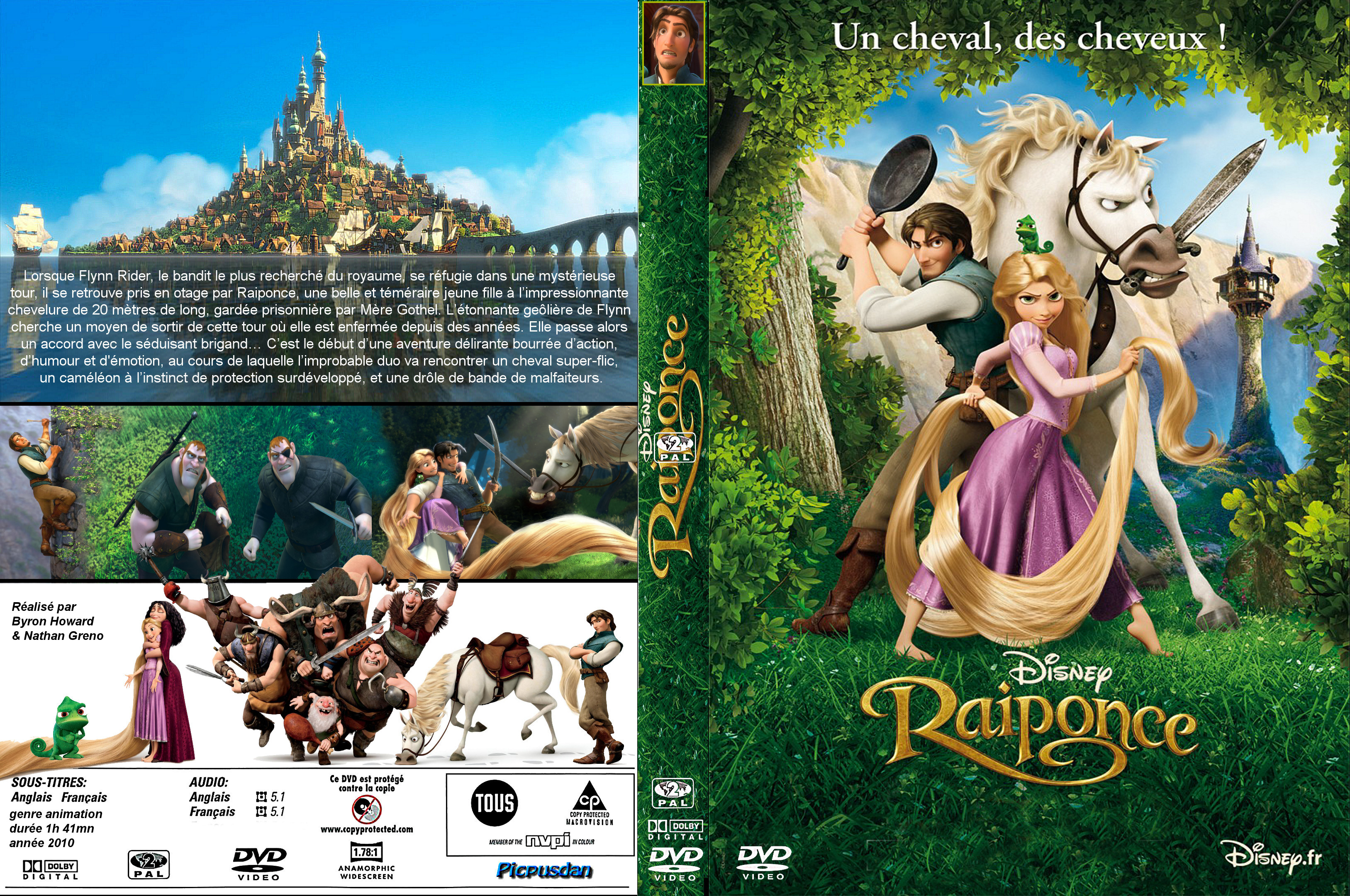 jaquette dvd raiponce
